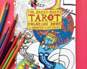 The Sakki-Sakki TAROT Coloring Book