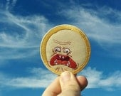Rick and Morty Screaming Sun Patch
