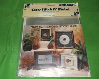 Cross Stitch N Metal 14 count cross stitch Metal NEW