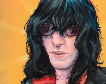 Joey Ramone - Limited Edition reproduction by Mr. Hooper