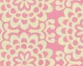 CLEARANCE .75 Yards Amy Butler Lotus Wallflower in Pink Fabric