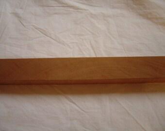 "African Mahogany Wood Mandolin Cigar Box Guitar Neck Blank 17"" x 1 11/16"" x 1 9/16"""