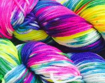 """Self striping yarn worsted weight -  """"Prism"""" in stock, ready to ship"""