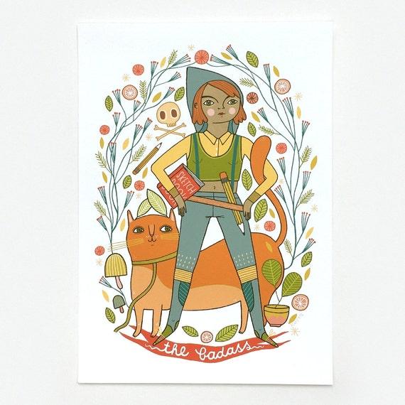 The Badass - Giclee Print