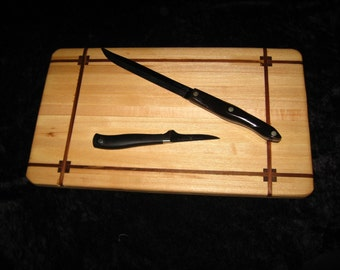 Edgegrain ash cutting board