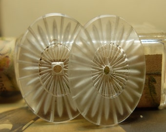 Vintage Camphor Glass Cabochons Glass Supply
