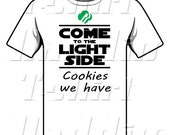 Come to the Light Side Cookies We Have Girl Scout T-shirt, babies, toddlers, girls