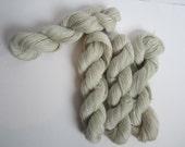 NATURAL 100% Pygora fingering weight yarn - Kitty