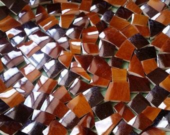 Mosaic Tiles--Impulse Brown -- 70  tiles