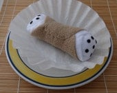 Squeaky Cannoli Dog Toy for Smaller Dogs
