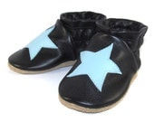 Soft Sole Leather Baby Shoes 6 to 12 Month Eco Friendly