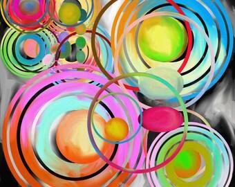 layered circles
