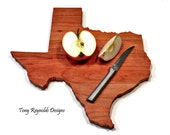 Personalized Cutting Board, Texas Shaped Cutting Board, Wedding Gift, Housewarming Gift, Hostess Gift, Birthday gift, Foodie Gift,