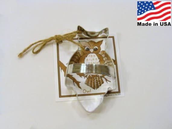 Owl Cookie Cutter by Ann Clark