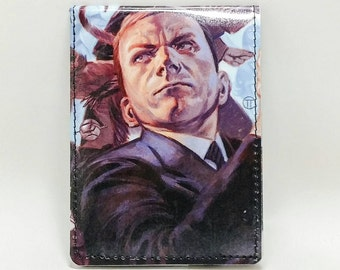 Sewn Comic Book Wallet -Marvel Agents of Shield - Agent Coulson