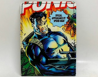 Sewn Comic Book Wallet - The Punisher