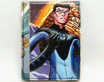 Sewn Comic Book Wallet - Fantastic Four - Mister Fantastic