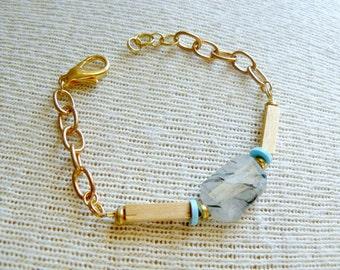 Ready to Ship- Lana - Beaded Boho Bracelet