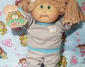 1985 Retro Exercise Cabbage Patch Kids Doll HTF with tags