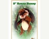 ONSALE Rabbit Animal Pattern, Bunny Plush Pattern, Plush Animal Pattern, PDF Sewing Pattern, Stuffed Animal Pattern, DIY Bunny, Teddy Bear P