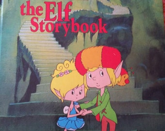 The Herself The Elf Storybook vintage 1983 scholastic American greetings hardcover book eighties