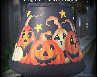 Halloween Jack-O-Lantern Pumpkin Night Light Shade-Home Decor Decoration