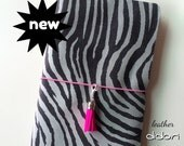 Last one!!! 50 off!!! ZEBRA mini Leather Didori - Traveller's Notebook, Fauxdori, Midori, Cover