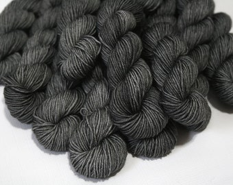 hand dyed yarn - 20g Quick Step Sock MINIS - Soft Iron colorway (dyelot 72116)