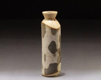 Wood Vase, Sycamore w/ bark (SY57)