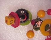Bakeltie crib toy doll Jan Carlin Original