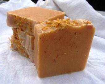 Honey Orange Calendula Soap