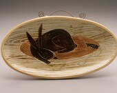 Lovely Pet- Rabbit- oval plate-Ruchika Madan