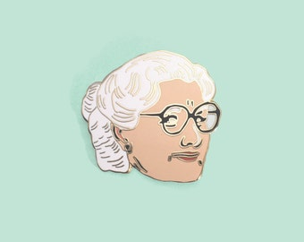 Lapel Pin Robin Williams as 90s classic Mrs Doubtfire