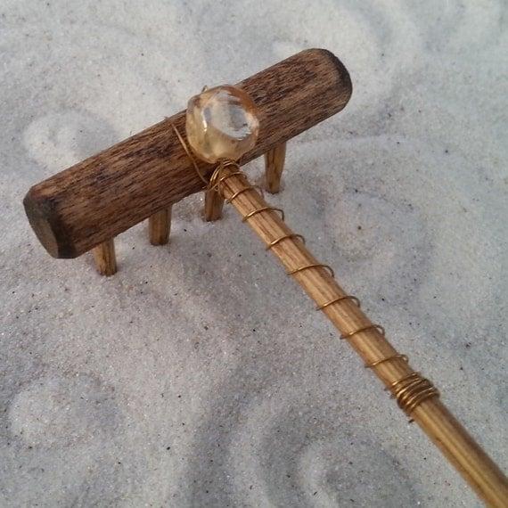 Mini tabletop zen garden rake sand piper - Japanese sand garden mini ...