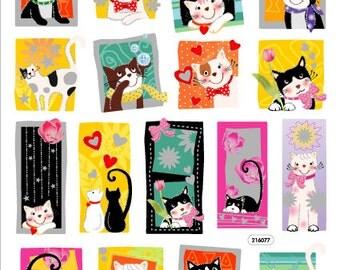 Kitty Cat Sticker • Kitties Sticker • Kitten Sticker • Cat Lover • Pet Lover • Kitty Cat Birthday • Cat Birthday Party (SK4199)