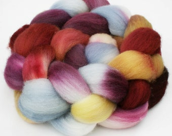 "BFL Wool  Spinning Fiber, 4 oz, ""Rustica"""
