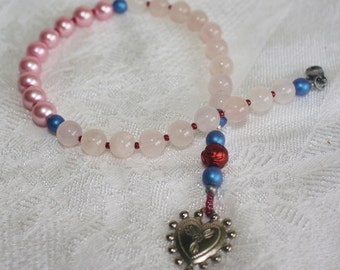 Sacred Heart Prayer Beads