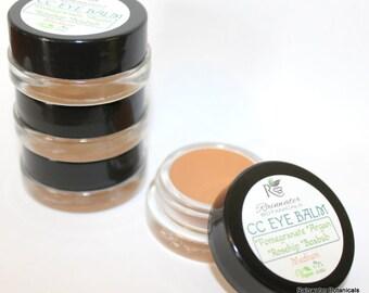 Color Correcting Eye Balm with Pomegrante, Argan, Rosehip & Boabab oils
