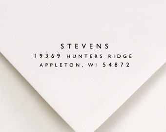 Return Address Stamp, Address Stamp, Name Stamp (193)