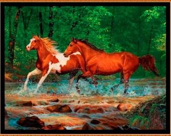 Rivers Bend Horse Panel 1 Yard