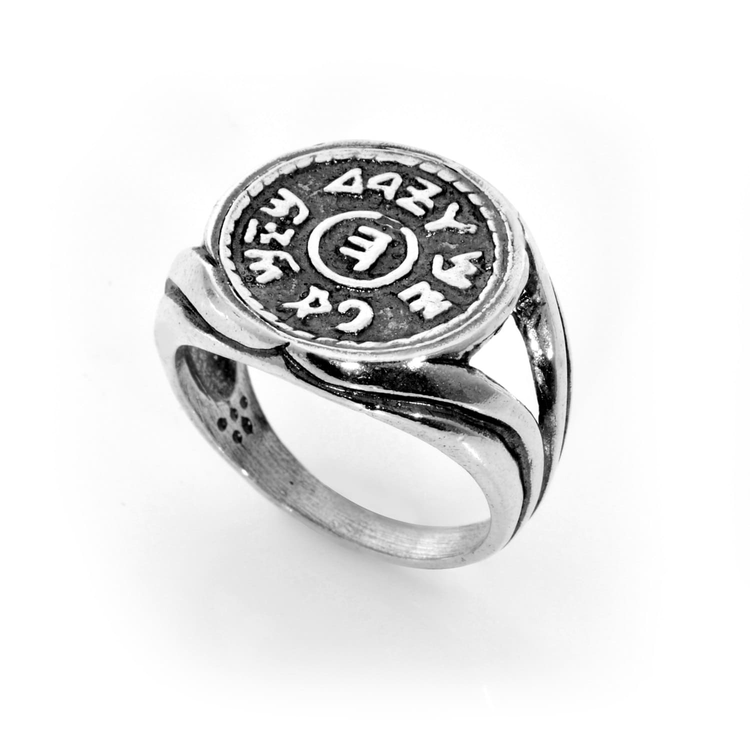prosperity and success king solomon 925 sterling silver