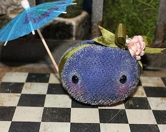 Blueberry Anna A OOAK Mohair Blueberry