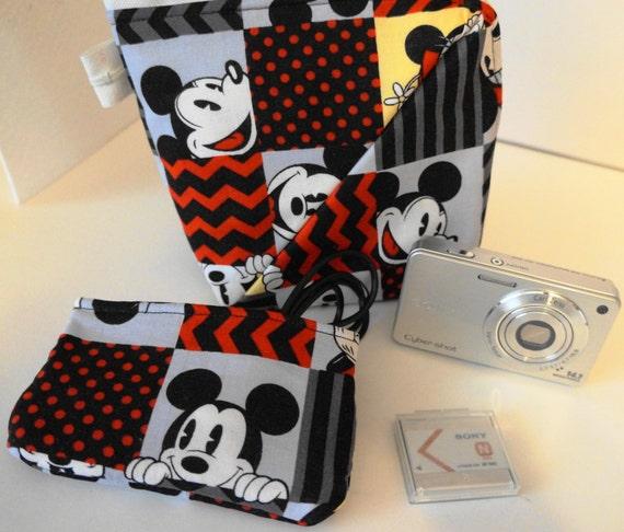 Mickey Mouse Digital/ Camera/ Makeup Case