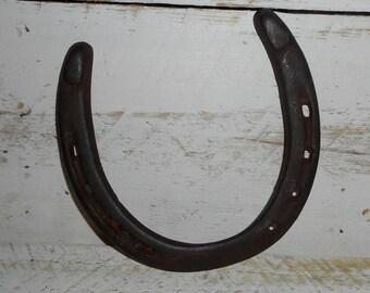 Old Rustic Antique Horseshoe, Farmhouse chic Horse Shoe , Old Horseshoe