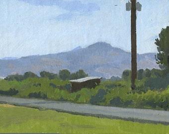 Original Oil Painting: Roxy Ann From Hanley Farm