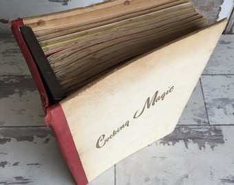 Vintage Culinary Arts Institute Cooking Magic Step by Step Cookbook Collection - Binder - 12 Books