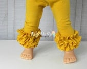 Doll Leggings  18 inch Doll Pants Doll Tights 15 inch doll leggings 14.5 inch doll leggings Baby Doll Clothes Ruffle Doll Leggings