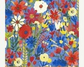 25% OFF Flower Pedals Blue Floral by Carolyn Gavin for Windham Fabrics