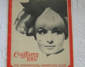 Vintage hair magazine . coiffures 1967 . 60s hair styles . vintage coiffure