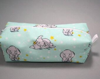 Boxy Makeup Bag - Disney's Dumbo Zipper - Pencil Pouch